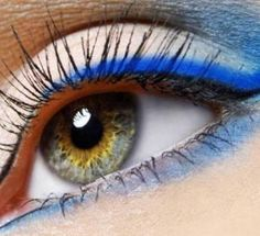 How To Wear Colored Eyeliners