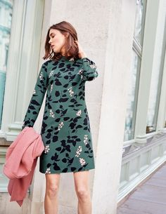High Neck Dress WW101 Printed Dresses at Boden                                                                                                                                                                                 More
