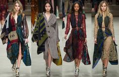 British Designers Give Scarves and Wraps the Tapestry Treatment for Fall 2014
