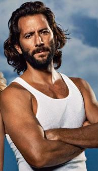 Henry Ian Cusick cheesy picture though!