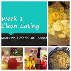 Broke and Bougie: Clean Eating Week 1 Meal Plan