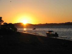 Sunset, Motorua Island, Hauraki Gulf, Auckland
