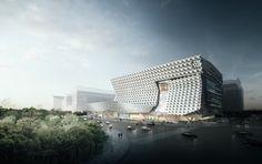 Morphosis Employs Fiber-Reinforced Facade for Kolon Headquarters in Seoul