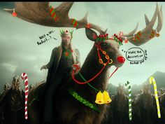 WHAT: You are invited to our Elven feast and revelry tonight.  WHERE: Mirkwood (formerly known as Greenwood The Great) HOST: King Thranduil.  Merry Christmas & A Prosperous New Year