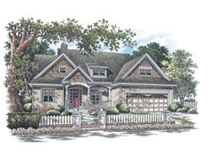 Home Plan The Prairiefield by Donald A. Gardner Architects