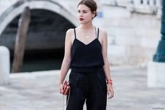 #luxury #gorgeouswear #black #jumpsuit