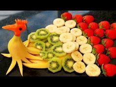Make a DELICIOUS DESSERT with FRUIT | Carving Fruit | FRUIT DECORATION - YouTube
