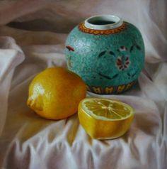 Herman Tulp | OIL | Cheerful ginger jar