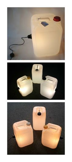 #Lamp, #Light, #Recycled