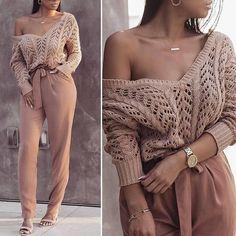 Best Classy Outfits Part 15 Black Women Fashion, Look Fashion, Autumn Fashion, Womens Fashion, Fashion Styles, Girl Fashion, Fashion Games, Fashion Boots, Fashion Brands