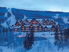The Ritz-Carlton, Bachelor Gulch in Avon, Colorado is perfect for those who love luxury and love winter sports. Conde Nast Traveler Gold List, 2013.