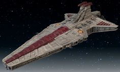 The Venator-class Star Destroyer,  also known as the Venator-class Destroyer, Republic attack cruiser, and later Imperial attack cruiser, was one of the capital ships used extensively by the Galactic Republic during the later parts of the Clone Wars, as well as by the Galactic Empire.