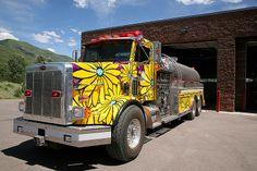 Portraits of Hope: Aspen Volunteer Fire Department, Tender 1; Aspen, Colorado.