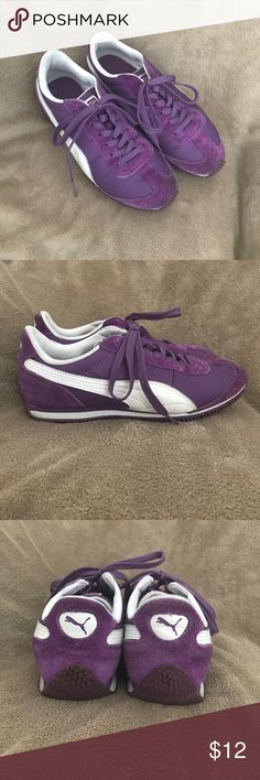 937d2d77821f Puma sneakers Love these purple pumas. Size 8.5