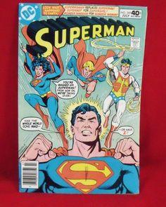 superman vintage comic book - Google Search