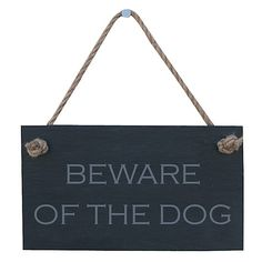 beware of the dog theme