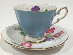 Feria estándar real de Lady Tea Cup y Saucer por AprilsLuxuries