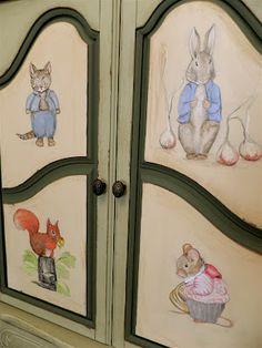 Beatrix Potter Armoire...