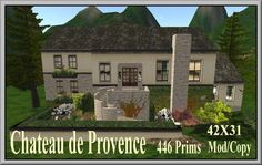Chateau de Provence | Coeur Virtual Worlds