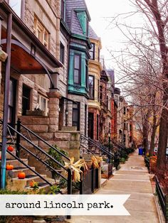 Brownstone Buildings-Lincoln Park x 10 FIne Art Photography-Home Decor-Office Decor-Chicago Wall Art Places To Travel, Places To See, Photographie New York, Lincoln Park Chicago, The Blues Brothers, Chicago Illinois, Chicago Usa, Chicago Travel, Chicago City