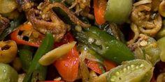 resep memasak cumi kering asin cabe hijau