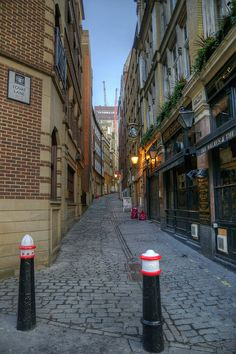 one of those interesting little streets packed with history! [Prostitutes used to hang out on 'Love Lane' and the pub on the corner was frequented by travellers. 365 outtakes - 20 Fenchurch Street from Lovat Lane by mattomatto, via Flickr