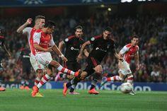 Sanchez scores! #AFCvBES