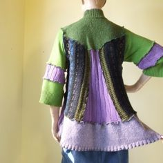 Another recycled sweater coat