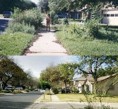 Old neighborhood comparison in South Austin.