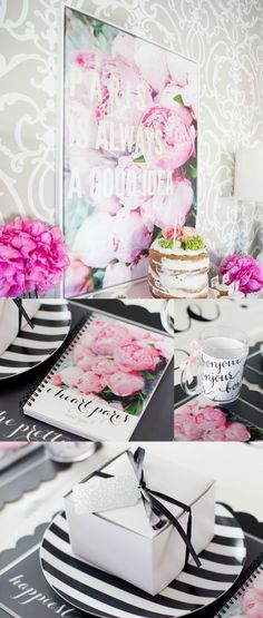 We are stunned at this adorable Paris-themed birthday celebration that Destiny threw for her daughter, Alivya. See how she incorporated Shutterfly products with an elegant feel.
