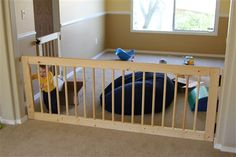 Extra Wide Baby Gate Around Stair Opening Baby Gates