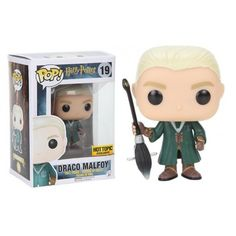 Funko Pop! Draco Malfoy, Hot Topic Exclusive, Harry Potter, Funkomania, Filmes