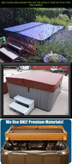 """BEST Custom Replacement Spa Hot Tub Cover 4"""" Thick up to 96'' With FREE SHIPPING #drone #racing #tubs #products #hot #technology #gadgets #kit #shopping #camera #parts #tech #fpv #plans #covers"""