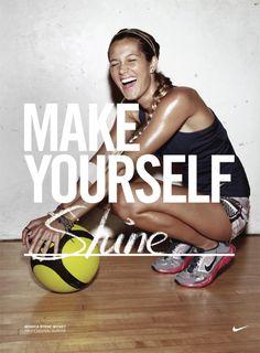 Monyca Byrne-Wickey, Nike Women, Make Yourself Campaign  Jeff Dey 2010