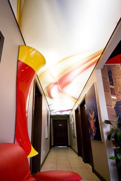 Printed Ceilings & Projects | LaqFoil