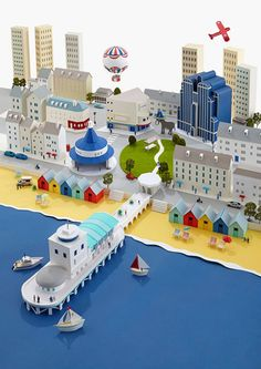 Paper art landscapes let you travel the world | Creative Boom