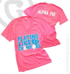 FEATURED WEEKLY ALPHA PHI CUSTOM GROUP ORDER!!