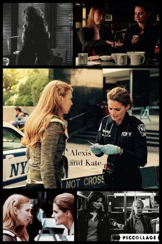 Kate Beckett and Alexis Castle