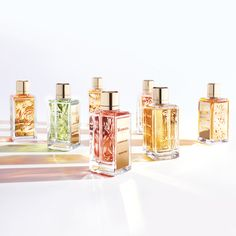 Maison Lancôme delights your senses with an ode to French countryside encapsulated in four new fragrances. A garden full of colors and… Perfume Genius, Best Perfume, Perfume Oils, Perfume Bottles, Louis Vuitton Makeup Bag, Celebrity Perfume, Fragrance Online, Hermes Perfume, Perfume Reviews