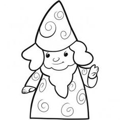 How to Draw a Wizard for Kids, Step by Step, Fantasy For Kids, For Kids, FREE Online Drawing Tutorial, Added by Dawn, April 13, 2011, 9:23:24 pm