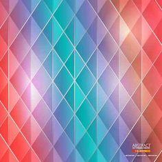 Геометрический Фон Мозаика