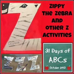 I am so excited to be participating in a terrific series from All Done Monkey called 31 Days of ABCs. This series brings you a different blogger every day in October showcasing an activity based on one letter of the alphabet. Today is our turn for the letter Z. This times out perfectly because it …
