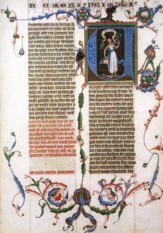 MINIATURIST, Bohemian The Wenceslas Bible 1390s Manuscript (Codex Vindobonensis 2759-2764), 530 x 365 mm Österreichische Nationalbibliothek, Vienna