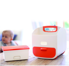 Diaper changing just got way more sleek with this caddy from @ubbiworld! #PNpartner