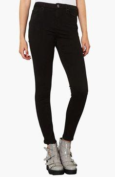 Topshop Moto 'Jamie' High Rise Skinny Jeans