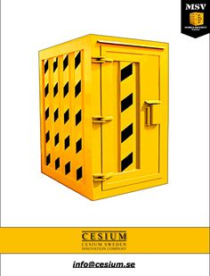 High Level Security Containers Grade 6 MSV Mobile Security Vault