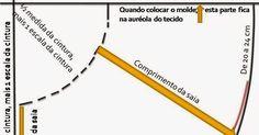 T1 – Traçar a linha na vertical no canto esquerdo do papel.   T2 – Traçar a linha na horizontal no alto do papel.   No encontro do T1 com o...