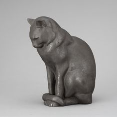 ANDERS JÖNSSON CAST IRON SCULPTURE OF A CAT