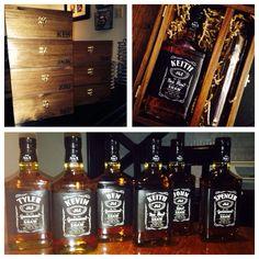 Personalized Maker S Mark Style Whiskey Bottle Label