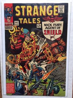 strange tales 142 - 28 images - strange tales 142 shop collectibles daily, bully says comics oughta be, marvel comics strange tales 142 sc 1966 catawiki, gcd cover strange tales strange tales 142 shop collectibles daily Comic Book Artists, Comic Book Characters, Superman, Batman, Jack Kirby Art, A Team, Strange Tales, Comic Book Collection, Silver Age Comics